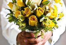 Sis's wedding - flowers
