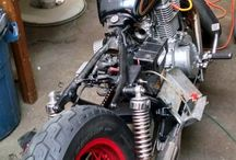 Bobbers / Simple, inexpensive, lightweight, old-school, rat-rod, bobbed motorcycles