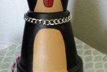 Clay Terracotta Pot crafts