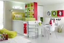 Dormitorios para los chicos / by Dolores Poodts