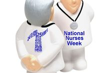 National Nurses Week / Check out these promotional products that help celebrate the men and women that have dedicated their life's in the healthcare field! Great gifts to give out for yearly National Nurses Week!