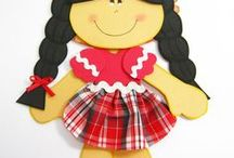 boneca caipira