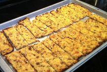 Brød/knekkebrød varianter (melke- og glutenfri)