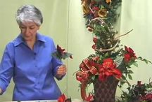 FREE How-To Videos From LadybugWreaths / Nancy Alexander of www.LadybugWreaths.com, and www.BestOfNancy.com has filmed over 35 videos on wreath and floral design.  Her videos have over 730,000 views on YouTube.  
