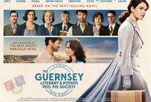 Guernsey Literary & Potato Peel Pie Society / Did you read—and fall in love with—The Guernsey Literary & Potato Peel Pie Society (despite that mouthful of a title!). If you did chances are you're looking forward to the movie as much as I am. Following every move they make! http://www.chapter1-take1.com/2018/04/first-clip-for-guernsey-literary-and.html