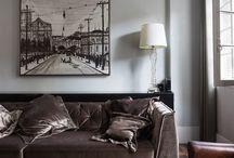 Decoração para paredes amplas / Confira ideias geniais de decoração para paredes amplas, com lindos quadros!