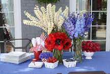 Labor Day Party Ideas / Recipes, decor and party ideas
