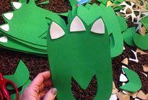 Dinosaurs / Dinosaur themed activities for kids