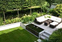 Modern, design kertek / Modern és látványos kertek megvalósításához adunk inspirációt. :)