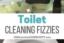 toilet cleaning fizzy