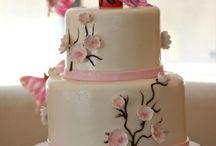 Oriental style cake