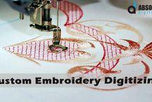 Custom Embroidery Digitizing