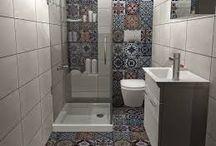 Μικρά μπάνια με ντουζιέρα