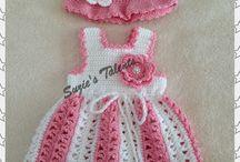 Crochet: Mini dresses