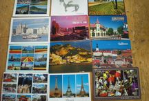 Postcards  / Postcards from my lovely blogger friends, some I have met and some not ,, :-)