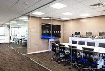 Single Glazed Frameless Glass Partitioning UK