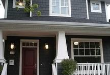 Exterior colour schemes houses