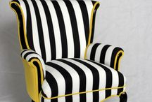 fotel Żółty
