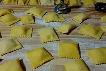 pasta fresca in vari ingredienti