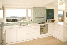 Kitchen portfolio / Some of the many kitchens we have created and installed in the Wellington region, highlighting clever features