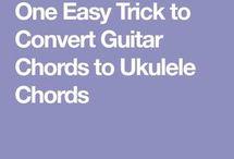 guitar  to uke