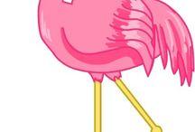 Произведения искусства с изображением фламинго