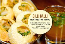 Food Fests! / The Corinthians was host to various food festivals. Every day new cuisines from all over the world were prepared. Dilli Galli was an authentic Delhi Street Food Festival!