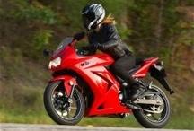 Women sport bike riders / Women who ride sport bikes #ducati ninja #triumph / by Lorraine , Psychic Housewives
