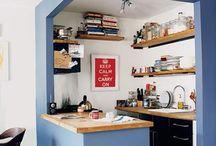 Mini-Kitchen mini space