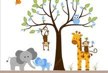Nursery ideas / by Laura Jane Smith (Godfrey)