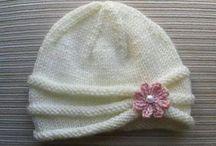 Cappelli maglia e uncinetto