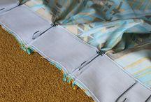 Pinch pleat drapes sew