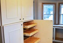 Hallway cupboards