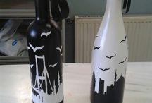 şişe boyama
