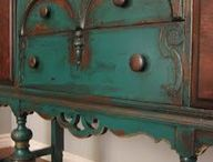Painted furniture Annie Sloan  / by WanderlustHome
