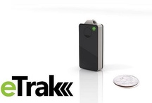 eTrak Device / eTrak is the most advanced personal GPS, location-tracking device on the market... and it's only the size of a domino! / by eTrak