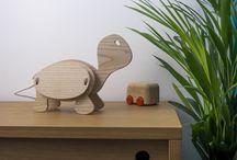 Lampe Zoo kids / Lampes pour enfant en forme d'animaux. Écologique car en bois, elles sont entièrement made in France.