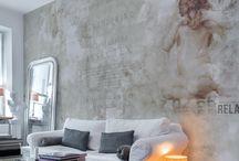 GLAMORA - TRACES 2014 - / İtalya'nin ünlü dizayn stüdyolarının onayladığı desenlerle birlikte ünlü tasarımcı Karim Rashid'in desenlerini de içeren, verilen ölçülere göre desenlerin özel olarak ayarlandığı, ipek ve keten hissi veren vinil dokulu duvar kağıtlarına olarak yüksek baskı kalitesiyle üretilen duvar kağıdı
