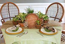 Table-setting Ideas