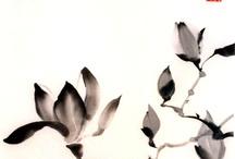 Sumi-e painting ideas