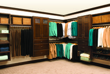 Closet Storage Solutions / Everyone needs help when it comes to home storage solutions. Trademark Construction can help you organize your family's life.