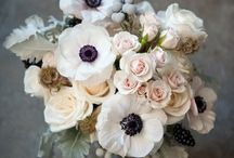 {Wedding - Flower arrangements} / bouquets and flowers