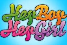 Geboortekaartjes van Hey Boy, Hey Girl