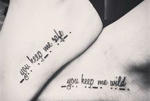 Best Friend Tattoos / Best friend tattoos are some other tattoos that are gaining more and more popularity these days. http://fabulousdesign.net/best-friend-tattoos-bff/