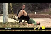 TRX Workouts / A board that includes videos of exercises and workouts using the TRX Suspension Trainer and TRX Rip Trainer