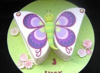 Brooklyn's Cake / 6 year old girl birthday cake