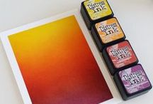 Card Making: Sunset Cards