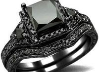 Black Diamonds / Natural fancy black diamonds are polycrystalline diamonds unlike other white and colored diamonds which are single crystals. They are a conjoined mass of a multitude of tiny black diamond crystals. Also known as Carbonado Diamonds, these diamonds are usually pea sized or slightly larger.