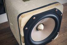 StoneBjelk squared concrete speakers www.stonebjelk.com