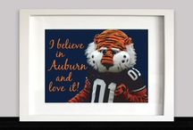 Auburn University Decor / by Sheri Wood